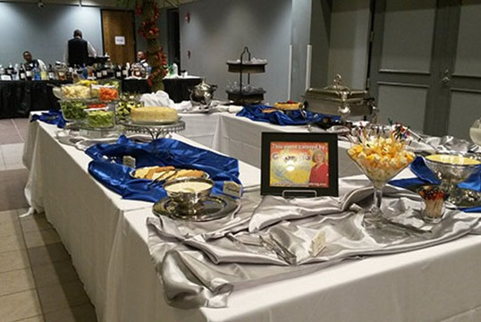This Mardi Gras catering is brought to you by Georgia Roussos Catering!