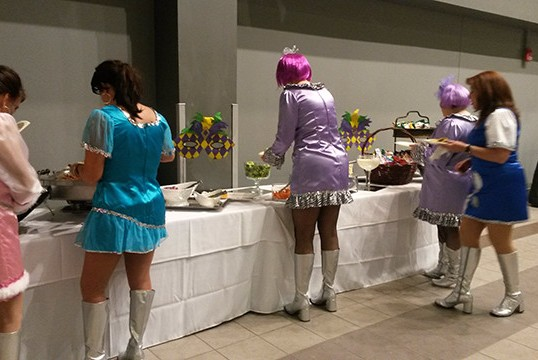 Let the good times roll with Georgia Roussos Catering!