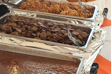 Baked beans, Conecuh sausage and more to feed your crowd.